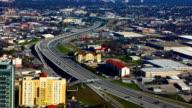 Aerial timelapse view of San Antonio video