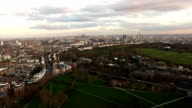 Aerial Urban View of London City Stock Video - 4K video
