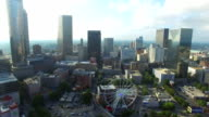 Aerial video Downtown Atlanta Georgia video
