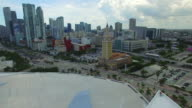 Aerial video Freedom Tower Miami video