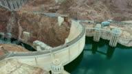 Aerial video Hoover Dam video