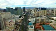 Aerial video Las Vegas Nevada video