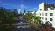 Aerial video Miami Beach FL USA video