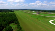 Aerial video of Macon Georgia video