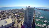 Aerial video of Miami Beach by 5th Street video