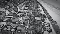 Aerial video of Miami Beach in the 1950's video