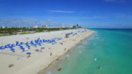 Aerial video of Sands of Miami Beach video