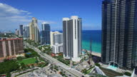 Aerial video of Sunny Isles Beach FL video