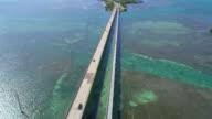Aerial video of the Seven Mile Bridge video