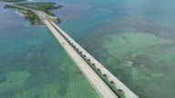 Aerial video of the Seven Mile Bridge video