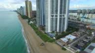 Aerial video Sunny Isles Beach video