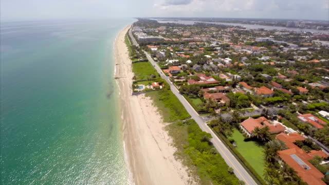 Aerial video West Palm Beach Florida video