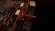 Aerial View Above the Dockyard video