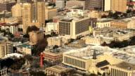 Aerial view in San Antonio city center video