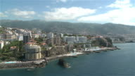 Aerial view - Madeira Island video