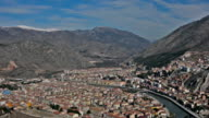 Aerial View Of Amasya, Turkey video