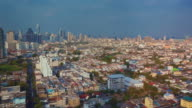 Aerial view of Bangkok,Thailand video