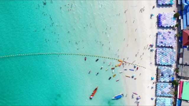 Aerial View of Beach in Thailand video