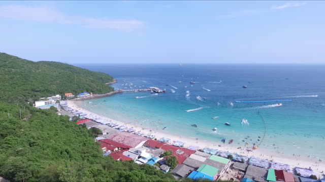 Aerial View of Beautiful island video