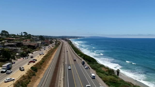 Aerial view of Encinitas video