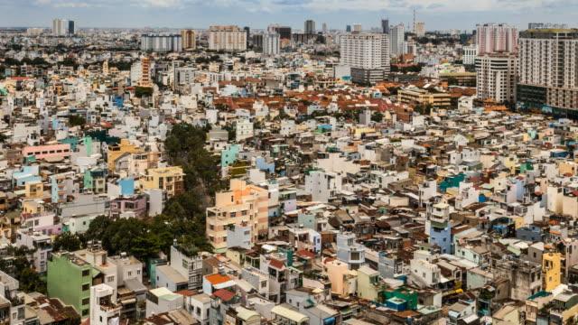 Aerial View of Ho Chi Minh City, Vietnam video