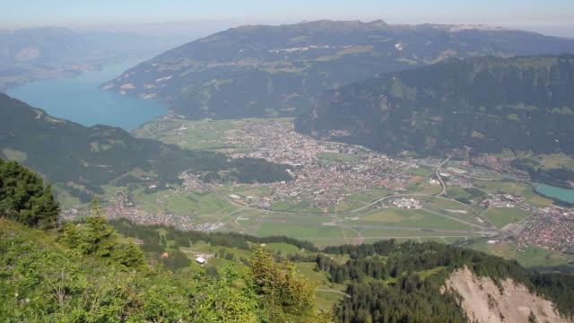Aerial View of Interlaken, Switzerland - HD & PAL video