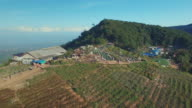 Aerial view of Monjam Chiangmai video