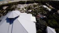 Aerial view of Nikki Beach Club Miami Beach video