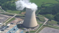 Aerial View of Power Plant video
