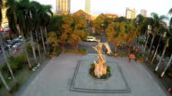 Aerial view of Rajah Sulayman Park video