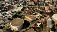 Aerial view of San Antonio, Texas video