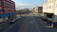 Aerial View of Small Town America video