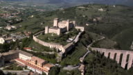 Aerial view of Spoleto video