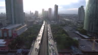 Aerial view of the Bangkok video