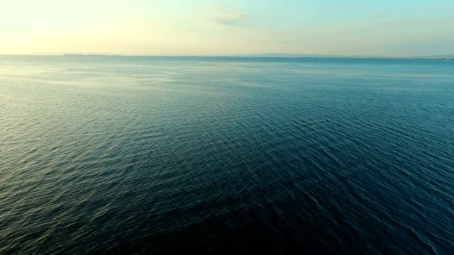 Aerial view of the beautiful Lake video