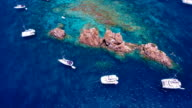 aerial view of the Indians, British Virgin Islands video