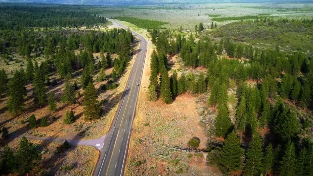 4K HELI : aerial view of the oregon countryside video