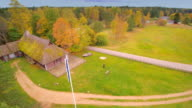 Aerial view of the playground in Altja video