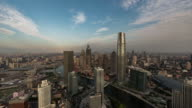 T/L Aerial View of Tianjin Skyline video