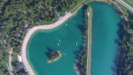 Aerial view of Wake Park Jarun video