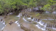 Aerial View of Waterfall video
