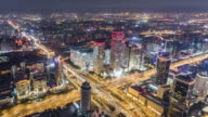T/L WS HA ZI Aerial View of Wonderful City Scene / Beijing, China video
