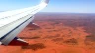 Aerial View over Northern Territory Desert Australia video