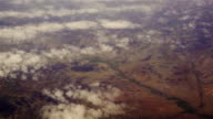 Aerial view to mountain's landscape of New Mexico, USA video