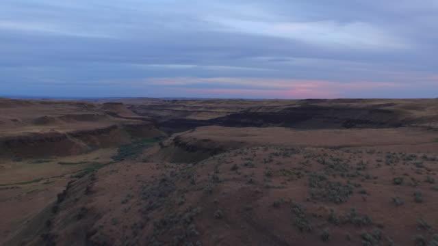 Aerial Washington Countryside video