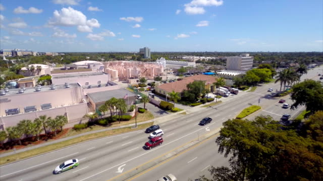 Aerial water treatment plant video