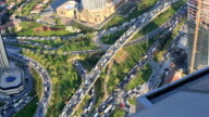 aerial wiev istanbul video