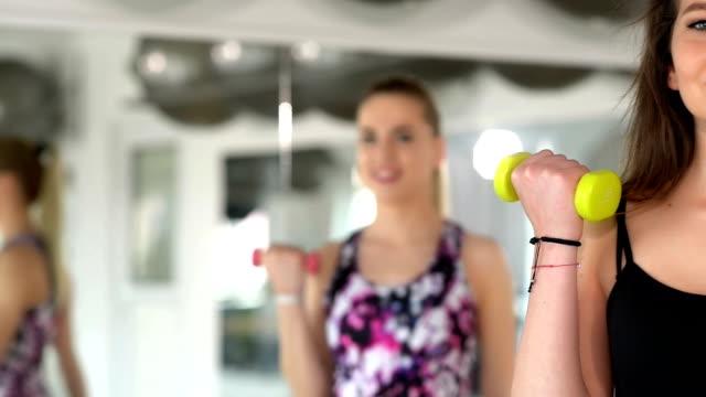 Aerobics at Gym video
