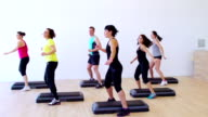 HD: Aerobics in slow motion video
