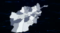 Afghanistan network map video